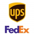 Shipping Upgrade to UPS/FedEx - International